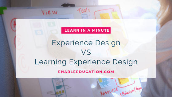Learn in a Minute with Jamie: Learning Experience Design